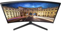 """23.6"""" SAMSUNG """"C24F396FHI"""", G.Black (Curved-VA, 1920x1080, 4ms, 250cd, LED Mega-DCR, D-Sub + HDMI) (23.5"""" Curved-VA LED, 1920x1080 Full-HD, 0.271mm, 4ms (GtG), 250 cd/m², Mega ∞ DCR (1000:1), 16.7M, 178°/178° @CR>10, D-Sub + HDMI, HDMI Audio-In, Headphone-Out, External Power Adapter, Fixed Stand (Tilt -2/+22°), VESA 75x75, Magicbright, Magicupscale, Eco saving plus, Eye saver mode, Flicker free, Game mode, AMD FreeSync,  Glossy-Black)"""