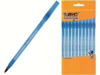 Набор ручек шариковых BIC Round Stic 10шт, синих