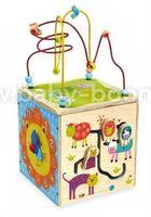 Baby Mix  HJ-D931063 Деревянный куб
