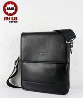 Мужская сумка из искусственной кожи  POLO.305-3 BLACK