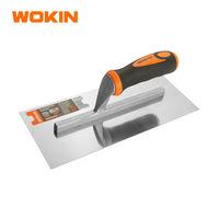 Терка штукатура нерж 280*120mm пластмассовая ручка Wokin