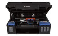 купить MFD Canon Pixma G2411, Color Printer/Scanner/Copier, A4, 4800x1200dpi_2pl, ISO/IEC 24734 - 8.8 / 5.0 ipm, 64-275g/m2, LCD display_6.2cm, Rear tray: 100 sheets, USB 2.0, 4 ink tanks: GI-490BK (12 000 pages*),GI-490C,GI-490M,GI-490Y(7 000 pages*) в Кишинёве