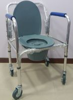 Кресло-туалет IS-7002W ХРОМ