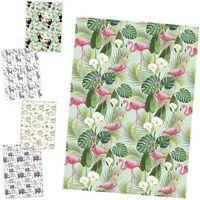 POL-MAK Бумага для упаковки POL-MAK 99.5x68.5см Exotic Animal