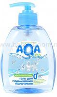 80.09 Aqa Baby Гель для подмывания мальчиков (300 мл.)