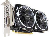 MSI Radeon RX 570 ARMOR 4G OC /  4GB GDDR5 256Bit 1268/7000Mhz, DVI-D, 2x HDMI, 2x DisplayPort, Dual fan - ARMOR 2X thermal design (Zero Frozr/Airflow Control Technology), TORX FAN, Gaming App, Retail