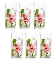 Набор стаканов для воды LUMINARC RED ORCHIS G4606