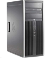 HP6200 TOWER I5-2400 (QuadCore up to 3,3Ghz),  4 GB DDR3,HDD 250 GB, DVD , no OS