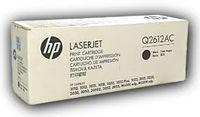 Laser Cartridge HP Q2612AC black