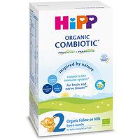 Hipp 2 Combiotic organic молочная смесь,  6+ мес. 300г