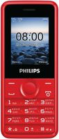 Philips E103 Xenium Dual Sim Red