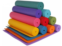 купить Коврик для фитнеса + чехол MaG 173х61х0.4 см PVC 60013 (2619) в Кишинёве