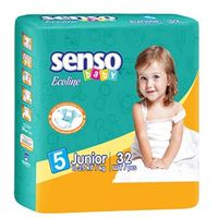 Senso Baby Ecoline Scutece Junior 5, 11-25 kg, 32 buc.
