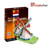 CubicFun пазл 3D Holland Windmill