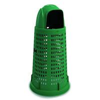 купить Мусорный контейнер Bobby 100 л, с крышкой, зелёный в Кишинёве