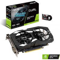 Видеокарта Asus GeForce GTX 1650 DUAL OC (4 ГБ/GDDR5/128 бит)
