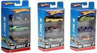 Mașine - Hot Wheels, Un set de 3 piese în culori diferite., cod K5904