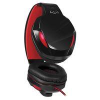 cumpără SVEN AP-G857MV Black-Red, Gaming Headphones with microphone, 2*3.5 mm (3 pin) stereo mini-jack, Non-tangling cable with fabric braid, Volume control, Cable length: 2.2m în Chișinău