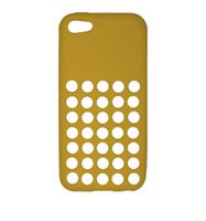 Husa de protectie Go Cool pentru iPhone 5C, Yellow