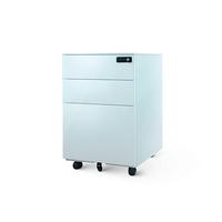 купить Металлический шкаф для хранения документов с 3 ящиками, 600x520x390 мм в Кишинёве