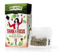 Чай зеленый Big Active Think & Focus with Ginkgo, 20  шт