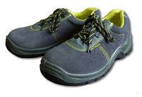 Туфли замшевые с металлическим носком