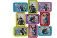 купить Фоторамка - коллаж 9фото (10X15cm) разноцветная,квадрат в Кишинёве