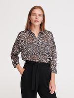Bluza RESERVED Imprimeu leopard