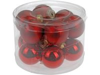 купить Набор шаров 12X40mm, красных, в цилиндре в Кишинёве