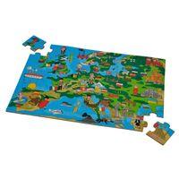 Eichhorn Пазл деревянный Карта Европы, 40 деталей