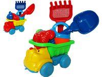 Игрушки для песка в машине 6ед, 19X15X15.5cm