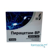 Piracetam-BP sol. inj. 200 mg/ml  5 ml N5x2 (Balkan)