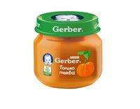Gerber пюре тыква 5+мес. 80г