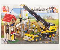 Sluban Construction - Crane truck (B0553)