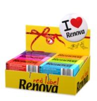 купить Renova Red Label Бумажные носовые платки (6) в Кишинёве