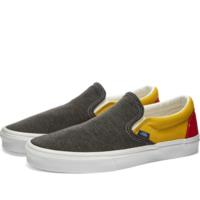 Pantofi slip-on VANS Gri/Galben vn0a4u38wk71