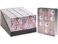 купить Набор шаров 12X50mm, розовые, в коробке в Кишинёве