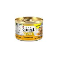 Gourmet Gold cu pui si morcov 85 gr