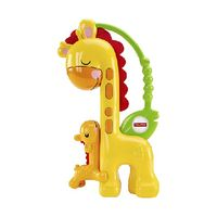 Fisher Price погремушка Поцелуй мамы-жирафа