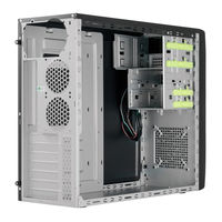 Case ATX Chieftec CG-04B-OP, w/o PSU, 2xUSB3.0, Screwless installation, Black