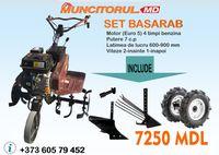 A Motocultivator WORKer SET BASARAB