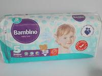 Детские подгузники BAMBINO junior 38 piecies(11-25kg)