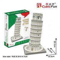 CubicFun 3D пазл Пизанская башня, 27 детале