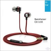 Earphones Sennheiser CX  3.00, Red
