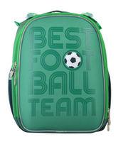"Ghiozdan pentru școală ""Football Team"" Yes I verde"