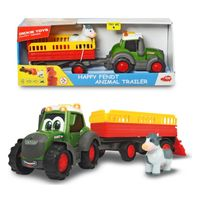 Dickie Трактор с прицепом Happy Fendt, 30 см
