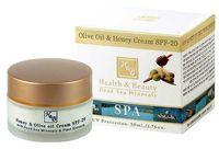 Cremă cu ulei de măsline și miere cu SPF-20 Health & Beauty 50 ml