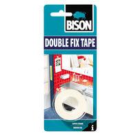 Bison Double Fix, скотч двухсторонний 1,5mx19mm