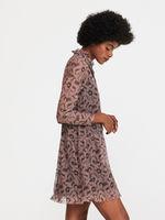 Платье RESERVED Розовый с принтом wp858