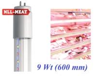 (U) LED NLL-T8-9-230-MEAT-G13-CL (Светодиодные лампы для подсветки мясных продуктов)